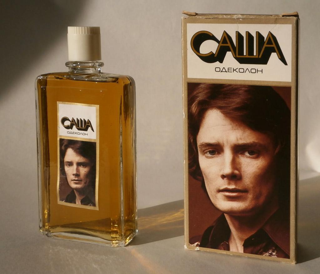 """Одеколон """"Саша"""" был в арсенале практически каждого советского мужчины. Что известно о красавце, изображенном на упаковке"""