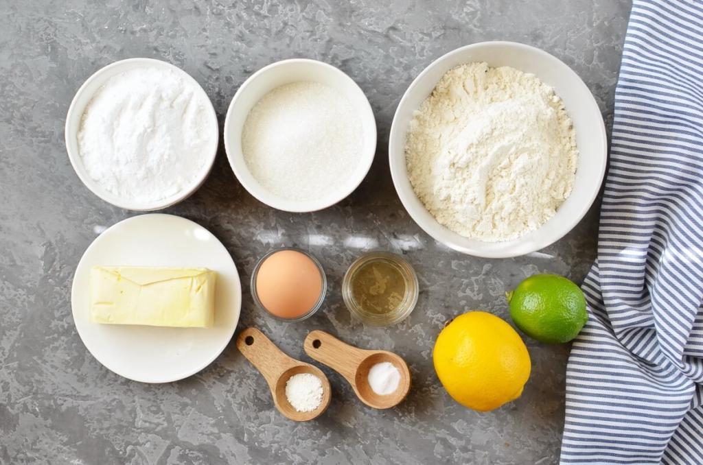 Нежные печеньки с лимоном и лаймом в цитрусовой глазури: сладкие, но кислинка в послевкусии завораживает