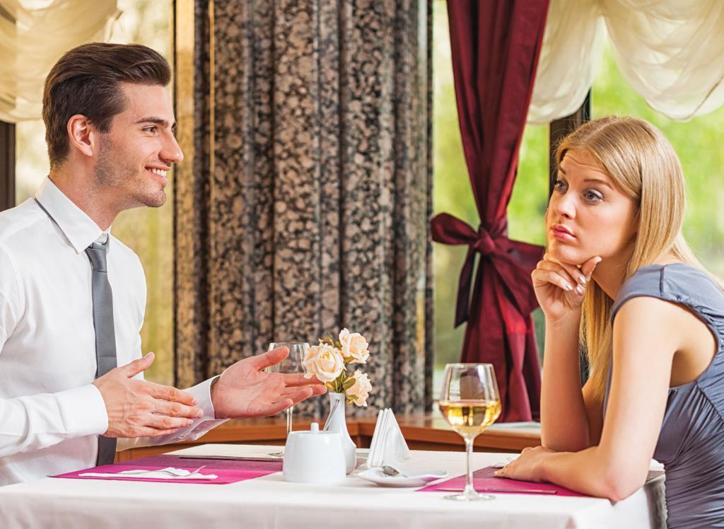 Неразговорчивый или бесконечно болтающий пареньдля большинства дам - распространенный страх первого свиданияи серьезная причина больше не встречаться