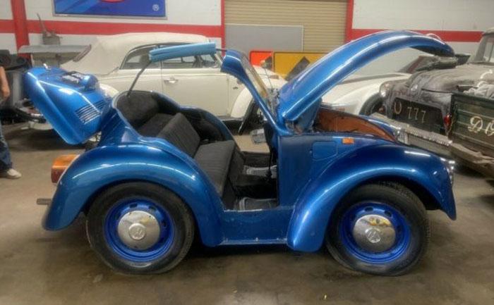 VW Beetle: единственный в своем роде «обрезанный» кабриолет поражает воображение, и хозяин продает его за $5500