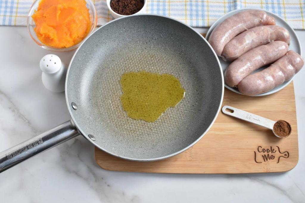 Тыква хороша не только в десертах. Паста с индейкой, соусом из тыквы и брокколи