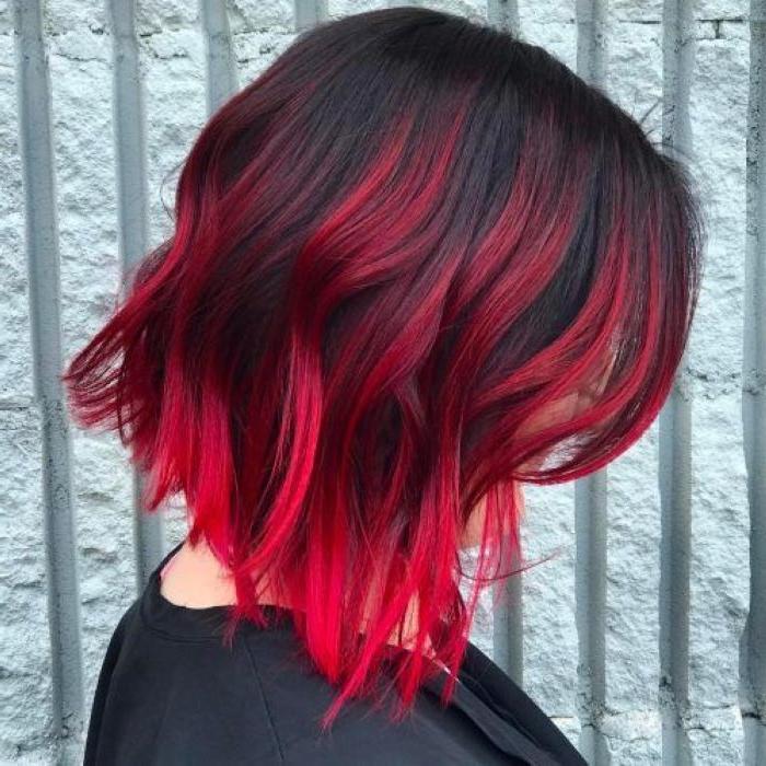 """""""Полоски лавы"""" - последняя тенденция в окрашивании волос, вдохновленная 90-ми"""