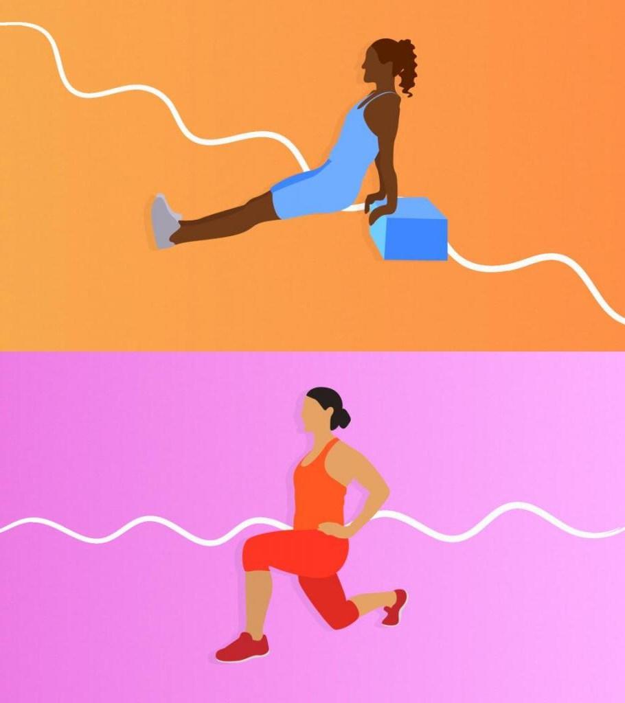 Без затрат на снаряды, тренажеры и оплату фитнес-зала. Используйте вес собственного тела: комплекс из 10 упражнений на дому от тренера-женщины
