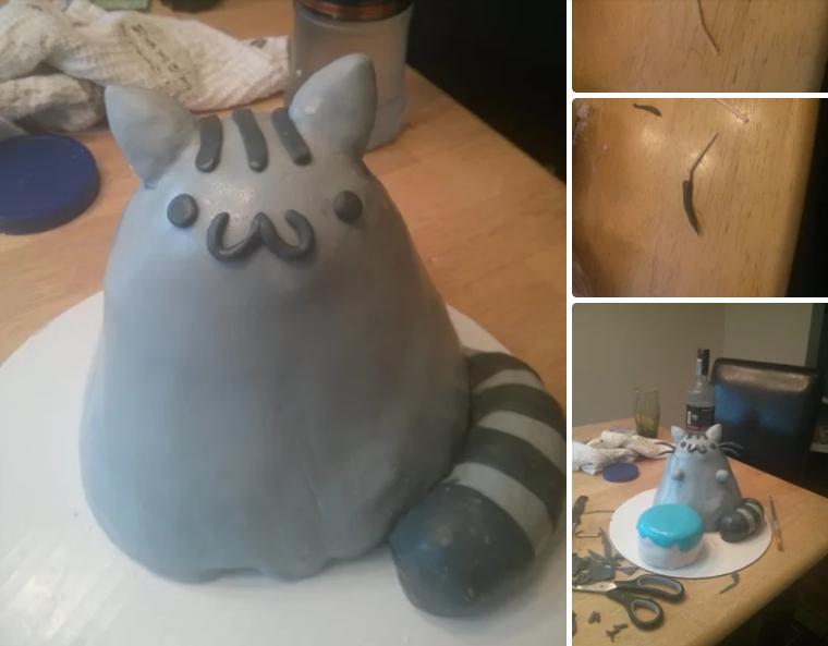 Как испечь необычный торт в виде котика: инструкция