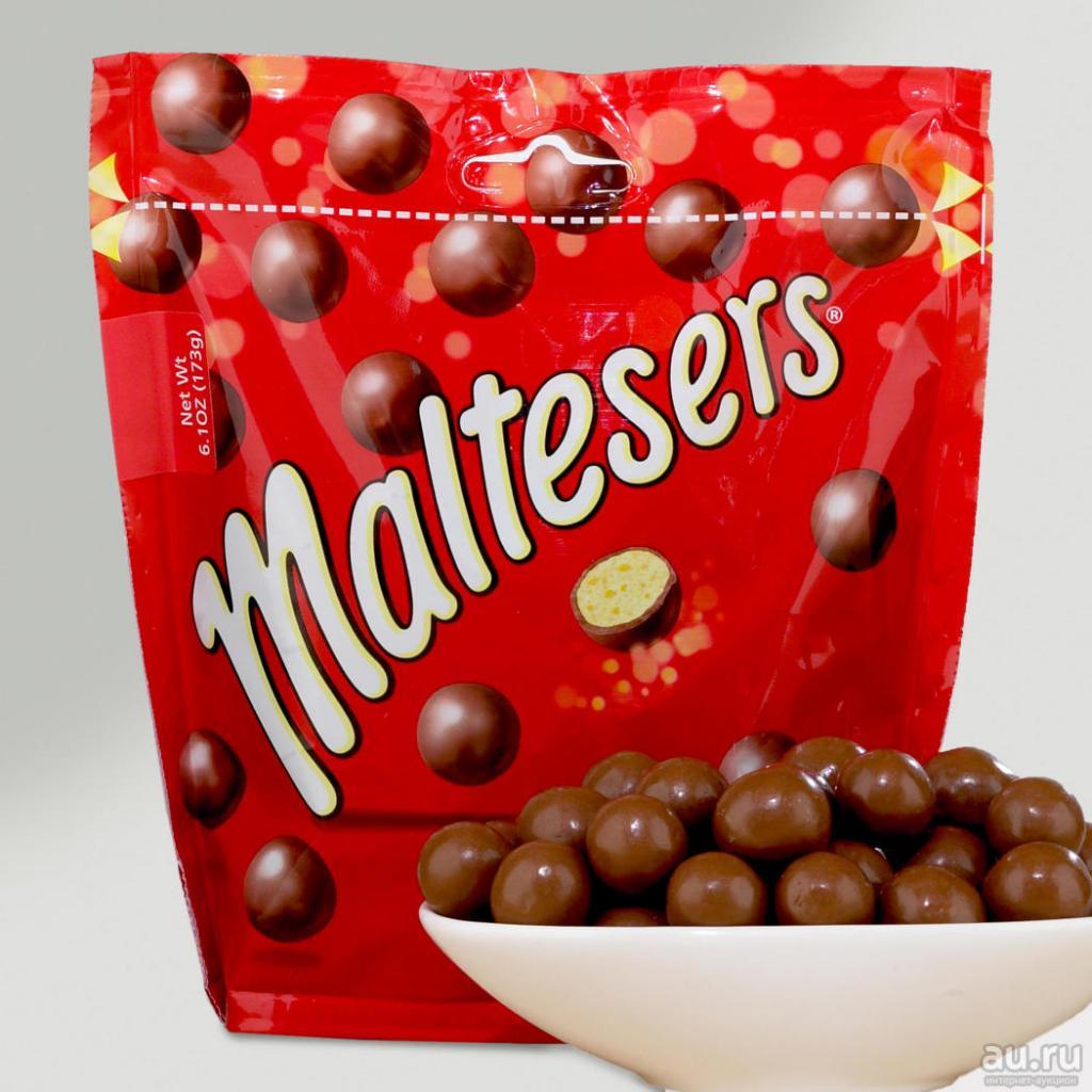 Шоколадная помадка с шариками Maltesers: сливочный вкус идеально сочетается с хрустом шариков