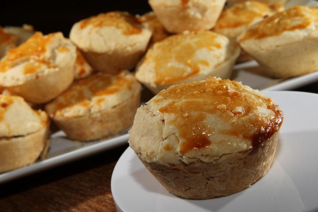 Мини-пироги с заварным кремом к завтраку: мое самое любимое лакомство