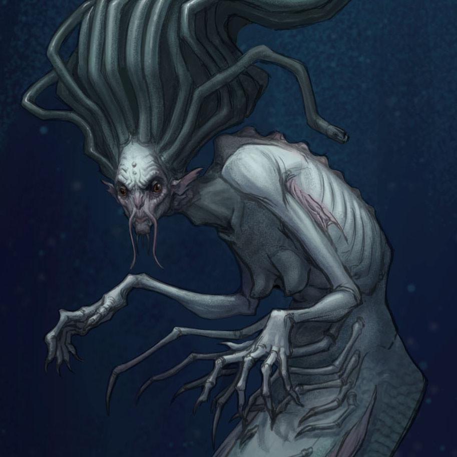 Мифические монстры встретили девушку для секса