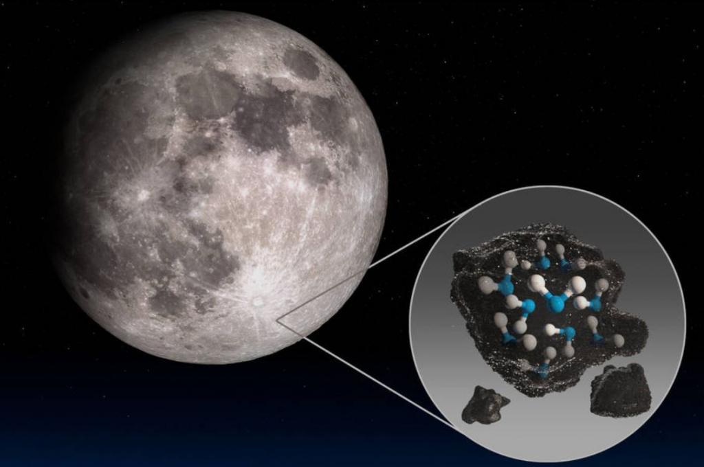 Лунная вода: если данные исследований подтвердятся, ученые смогут планировать миссии на Луну и за ее пределы