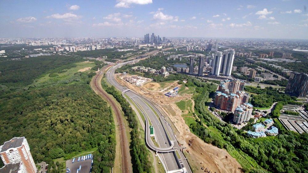 «МИСК» завершила работы на Южном дублере знаменитого Кутузовского проспекта раньше срока