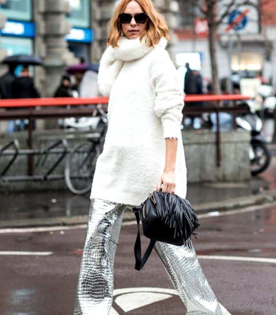 Добавляем немного гламура: как носить блестящую одежду, но выглядеть при этом стильно и дорого