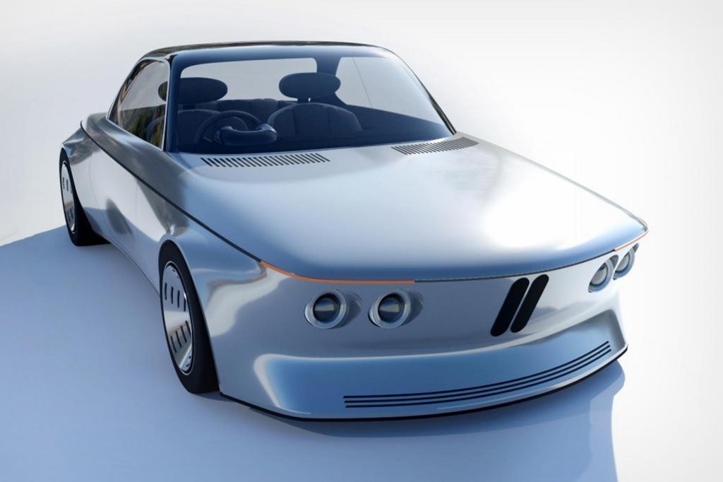 Впечатляющие проемы дневного света: BMW EV9 - прошлое, превращенное в современный ретро-дизайн