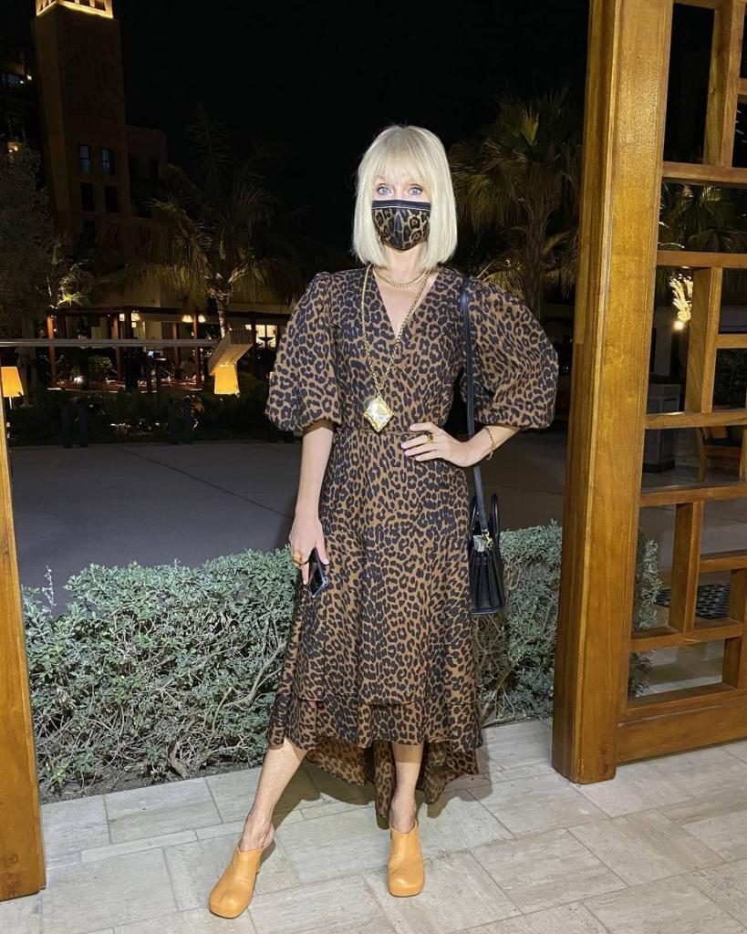 Валерия показала, какую маску ей подарили в Дубае: с расцветкой явно угадали (фото)