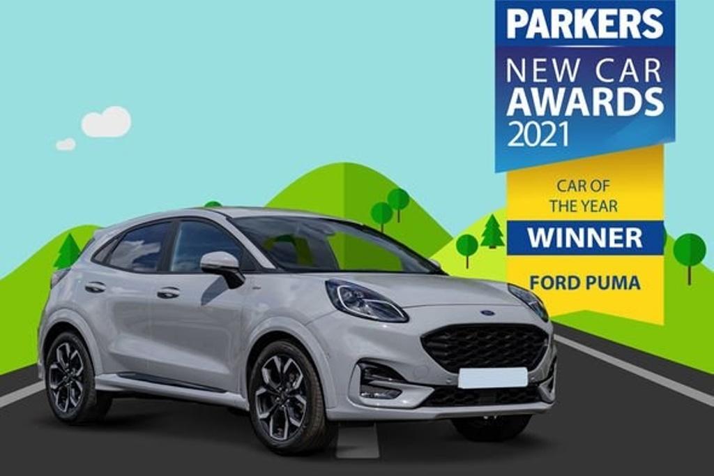 """Модели FORD заняли первое место в рейтингах: компания получила несколько наград """"Автомобиль года"""" с новой моделью Puma"""