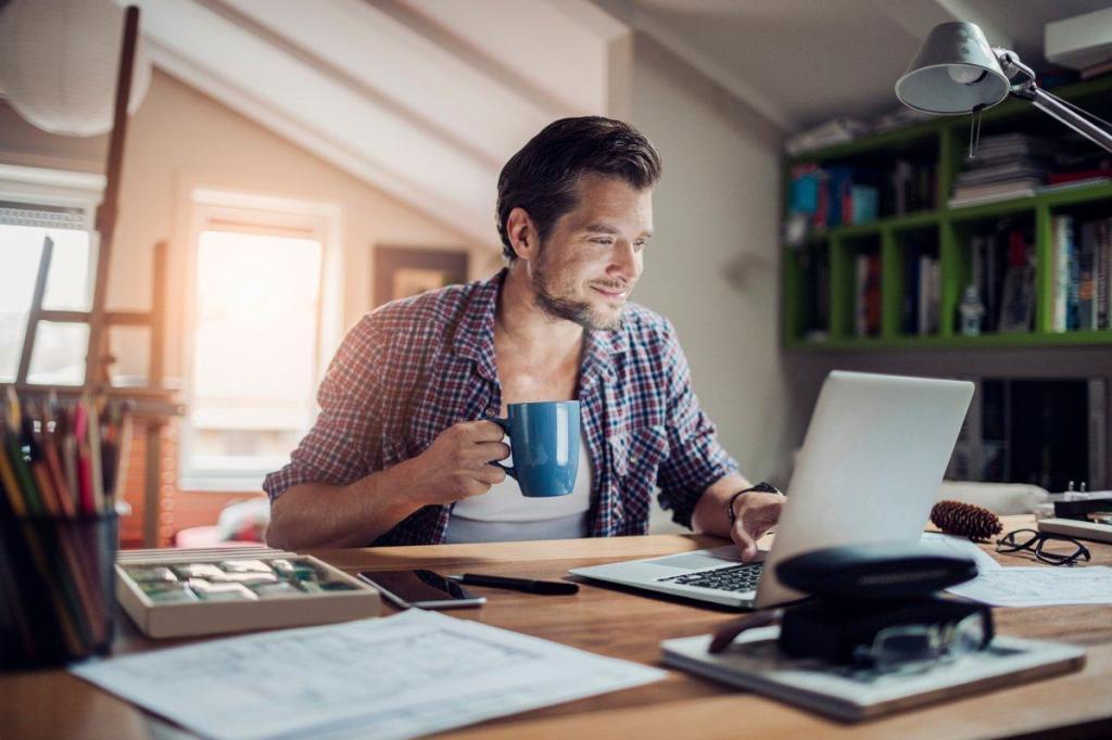 Получить желаемую удаленную работу: выбираем красивое место в квартире и другие секреты