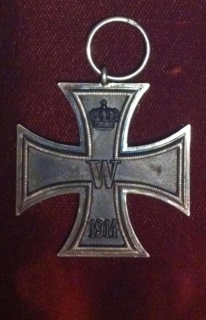 Железный крест Рудольфа Гесса