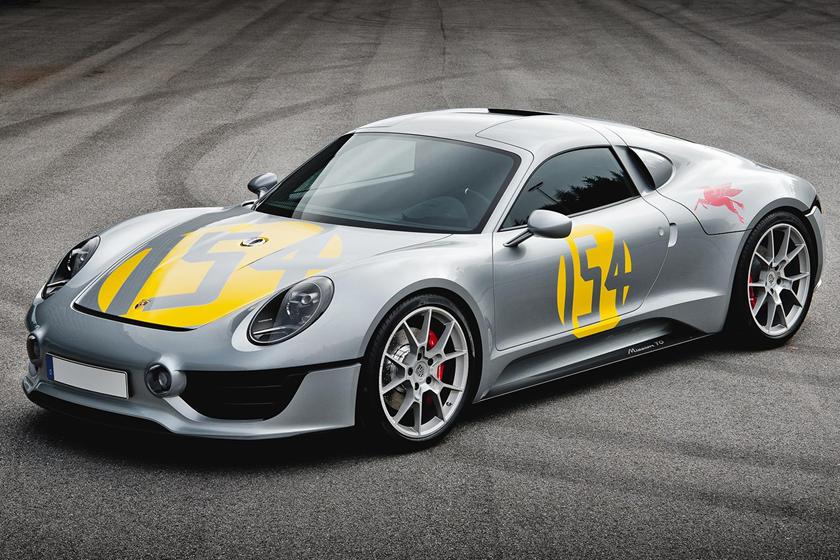 Renndienst, Boxster Bergspyder и другие: Porsche показал секретные концепции, которых вы никогда раньше не видели