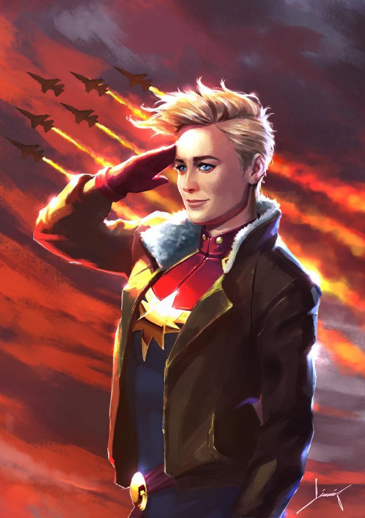 Стильная стрижка Капитана Марвел: почему девушка-супергерой носит именно короткую прическу