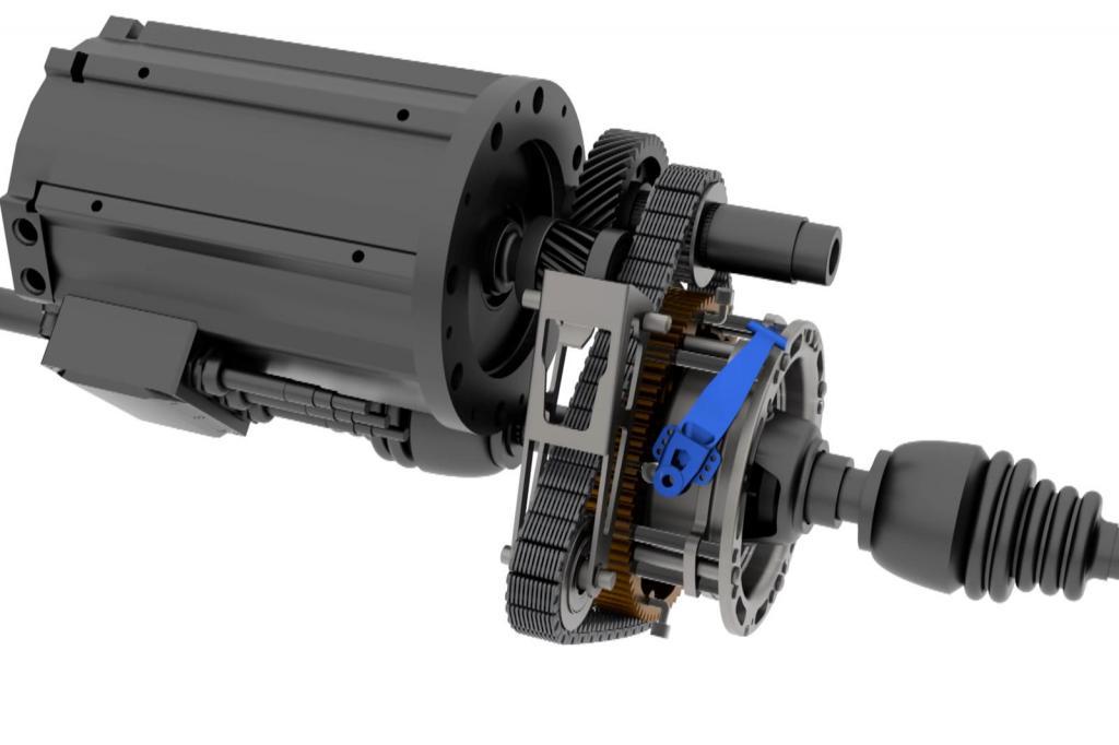 Велосипед подал идею: оказалось, двухступенчатая коробка передач Inmotive идеально подходит для электромобилей