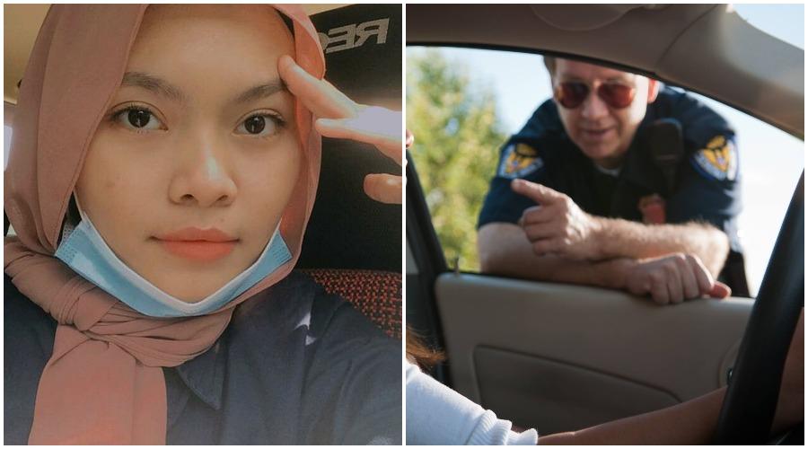 Жительница Малайзии рассказала, что когда ее машину остановили полицейские, она начала нервничать: оказалось, они хотели ей только помочь