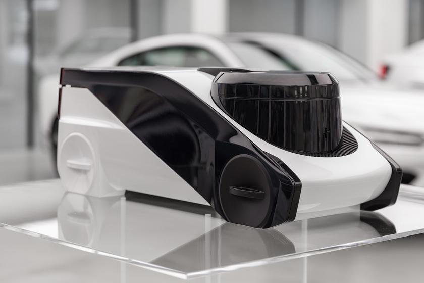Автономная капсула с футуристическим дизайном: как может выглядеть новый Polestar в 2040 году
