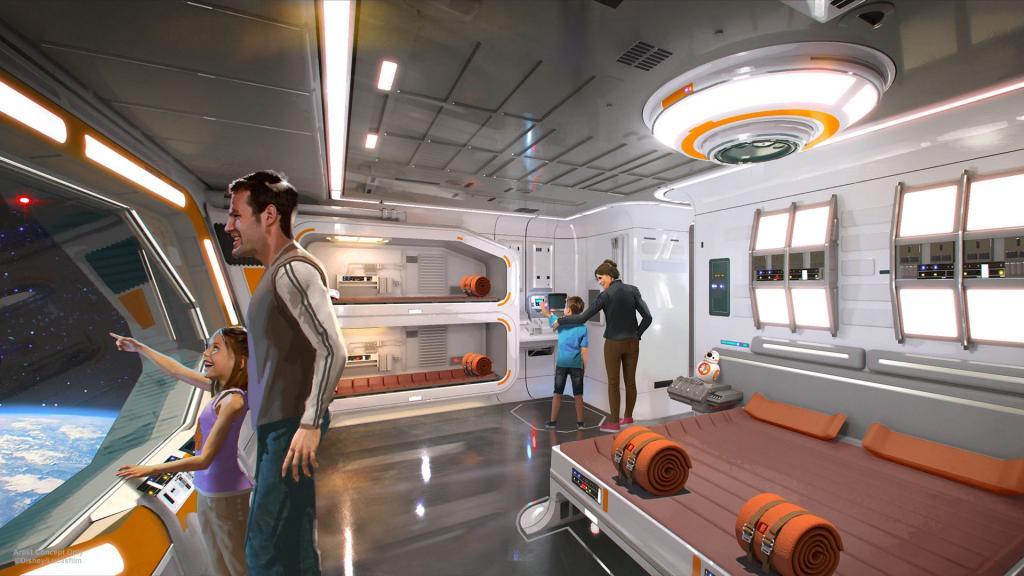 """Отель """"Диснея"""" по мотивам """"Звездных войн"""": стоимость отдыха в таких апартаментах впечатляет больше, чем интерьер"""