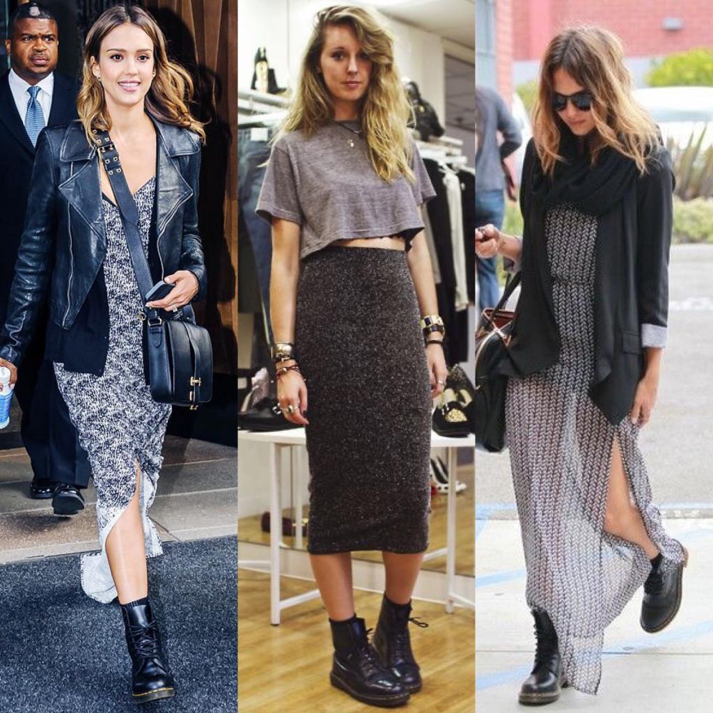 Как и с чем носить мартинсы: ботинки, которые должны быть в гардеробе любой уважающей себя модницы