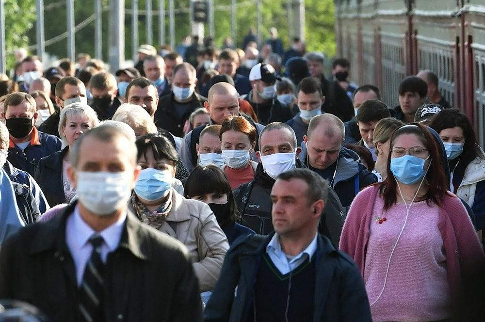 126 тысяч нарушений: в Москве с ноября в полтора раза выросло число нарушений масочного режима