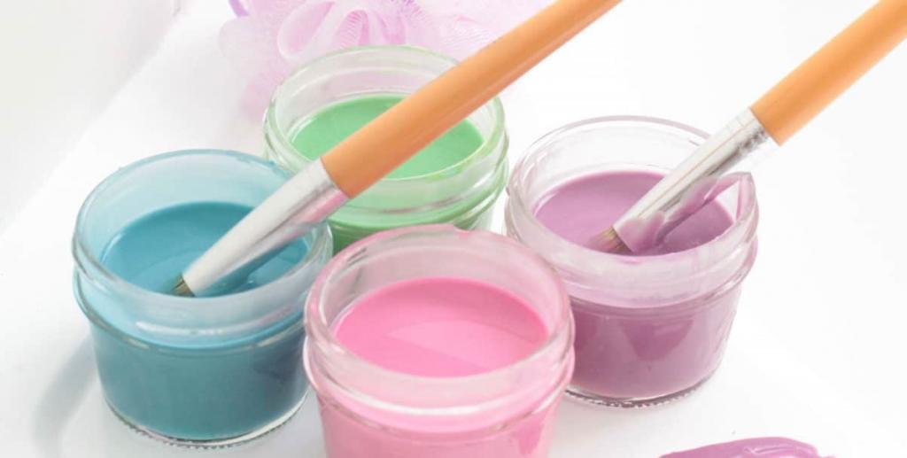 Сделала детям специальную краску для ванны. Ее очень просто изготовить