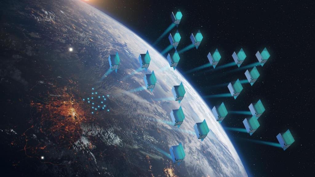 Реклама выходит на новый уровень: она станет внеземной. Первые российские спутники для реализации этого проекта запустят в 2022 году