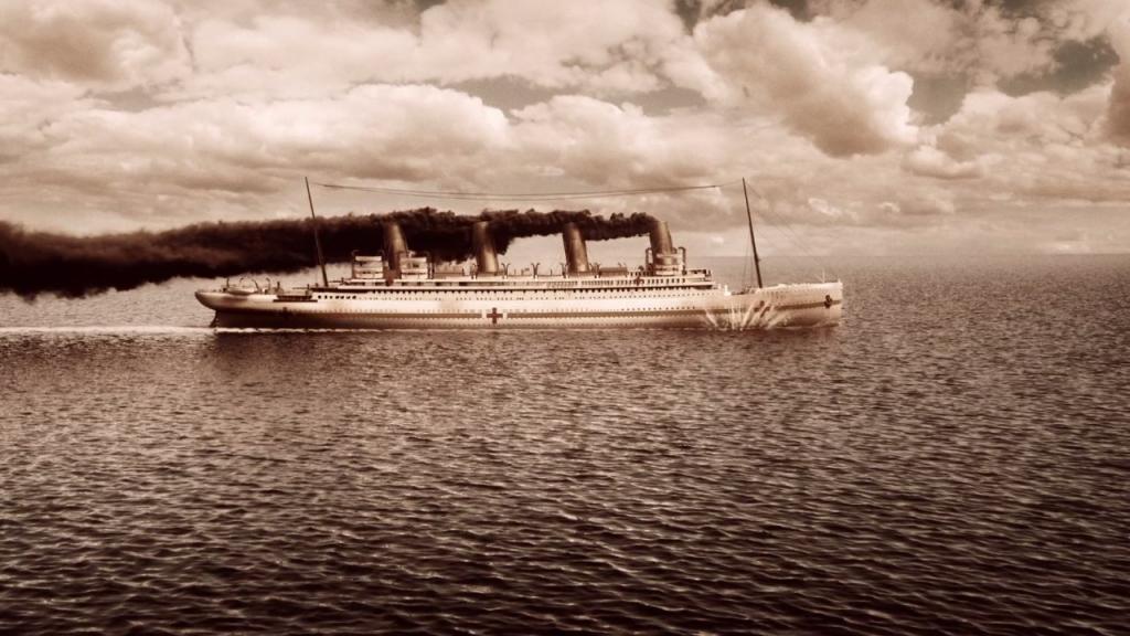"""21 ноября 1916 года в водах Эгейского моря затонул лайнер """"Британник"""", брат-близнец погибшего за 4 года до этого """"Титаника"""""""
