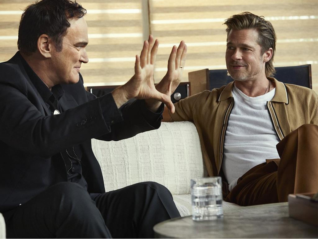 """""""Я жду, когда ты приедешь"""": как на самом деле выглядит дружба Брэда Питта и Квентина Тарантино"""