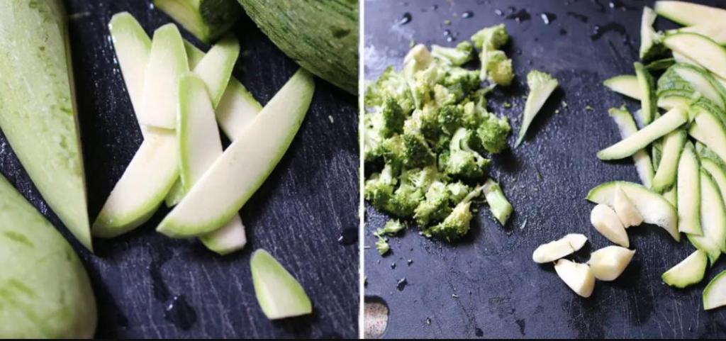 Паста лингвини с чесноком, кабачками и брокколи: мой любимый ужин, который можно готовить хоть каждый день