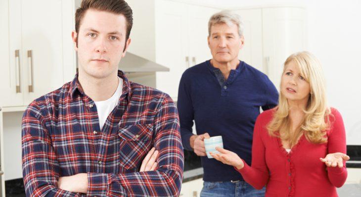 Я благодарен родителям за то, что они вмешались, когда я оставил квартиру своей бывшей жене