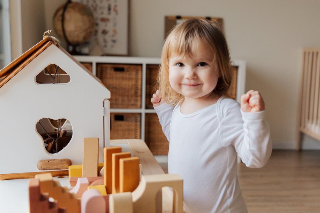 Порядок в детской - это вообще возможно? Да, если сделать ответственным ребенка, да еще и научить благотворительности