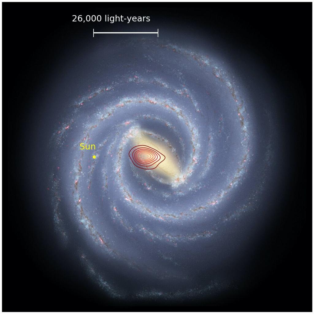 """Ученые обнаружили остатки древней """"ископаемой галактики"""", скрывающейся внутри Млечного Пути"""