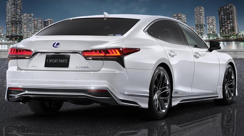 Lexus LS 2021 получит спортивные аксессуары: японский тюнер Modellista решил обновить внешний вид седана