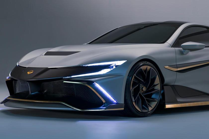 Гиперкар с потрясающей производительностью: Naran - четырехместный автомобиль мощностью 1000 л. с.