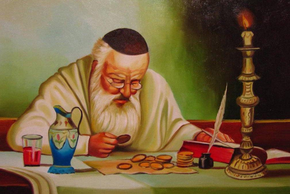 Старая еврейская притча-анекдот о том, как отсутствие знаний работает на человека (была бы только смекалка)