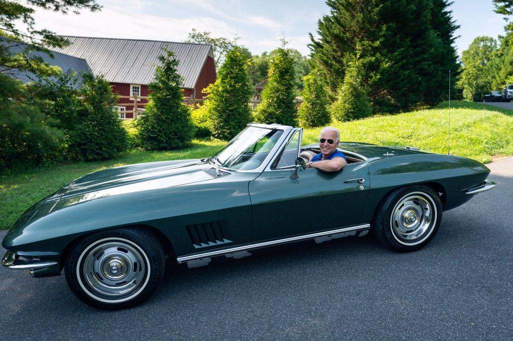 Джо Байден владеет коллекцией винтажных автомобилей, которая восхитит всех любителей техники