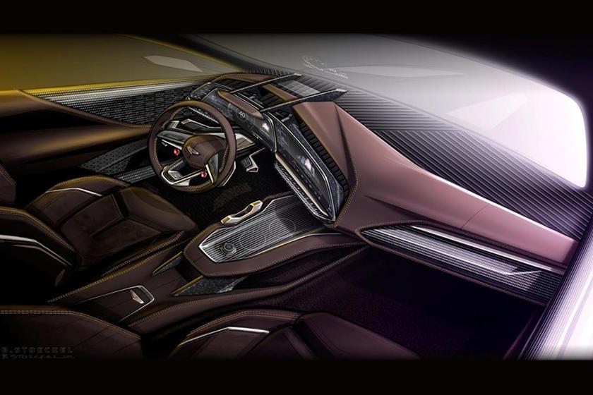 Малосерийный, эксклюзивный: GM Design выпустила концептуальный эскиз нового Cadillac Celestiq Halo