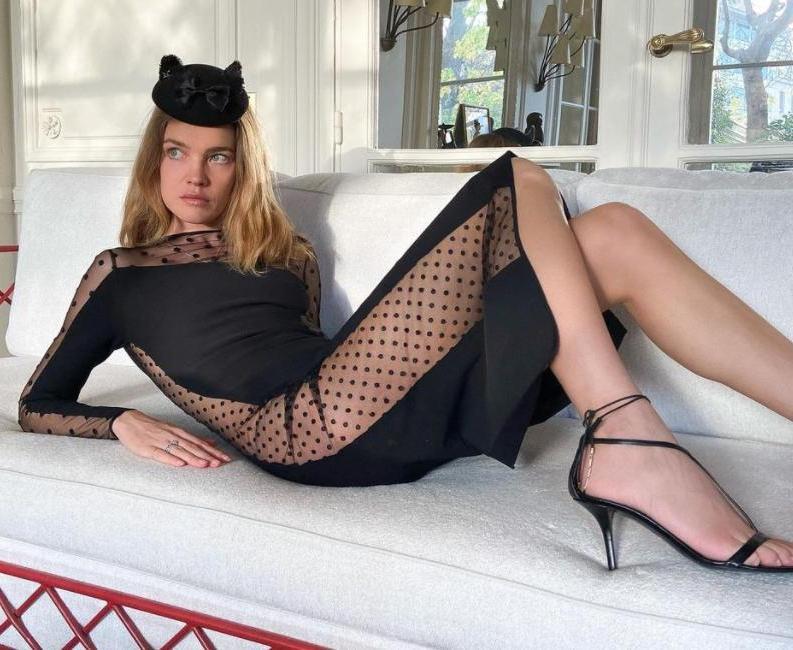 Шляпка и платье от Стеллы Маккартни: Наталья Водянова похвасталась перед подписчиками утонченным образом
