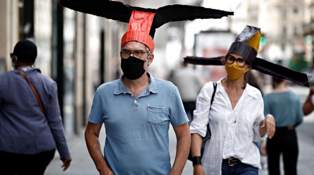 Мир в условиях пандемии: креативные решения для социального дистанцирования