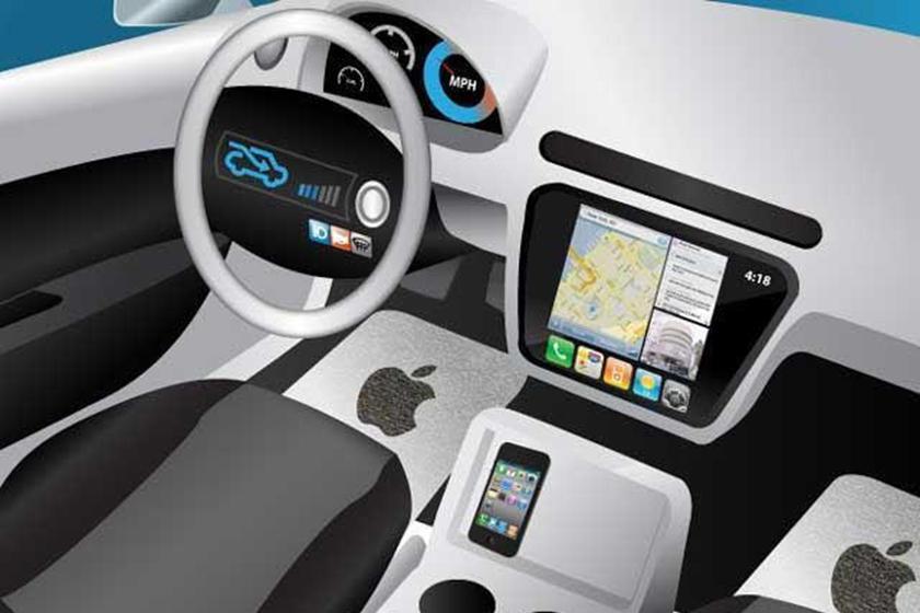 """Apple выпустит """"умное"""" лобовое стекло: будет автоматически затемняться в зависимости от погодных условий или желания водителя"""