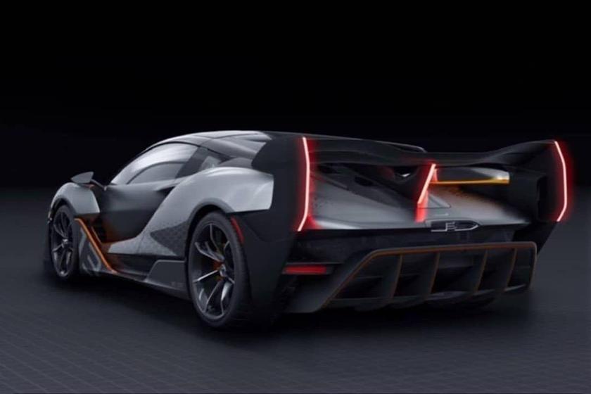 Замысловатый кузов гиперкара: будущий McLaren Sabre представлен на патентных фото