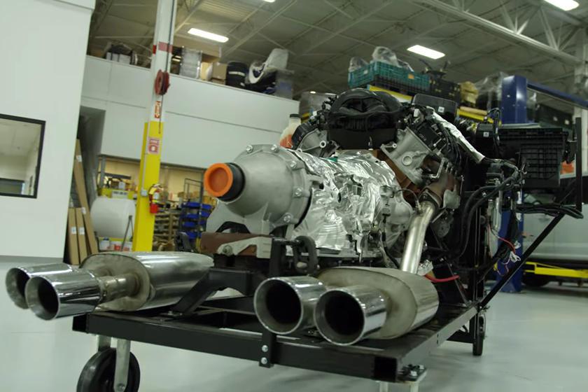 Назван «сверхсекретным проектом»: Ford объявил о разработке сверхмощного бензинового V8 с названием Megazilla