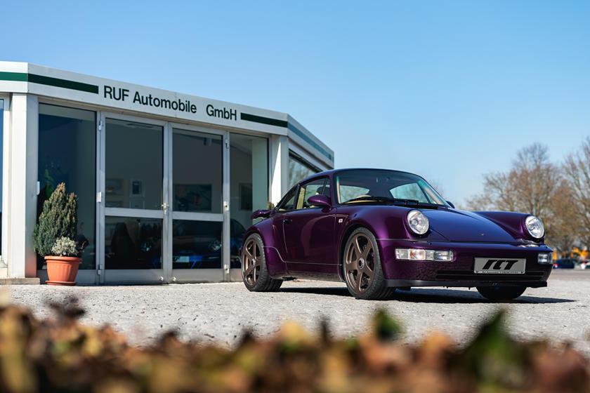 Стилизовано под Porsche 911 образца 1990 года: Ruf Automobile показала первый экземпляр нового RCT Evo