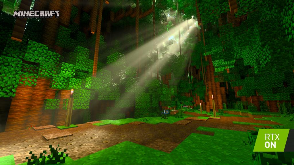 Запуск Minecraft с трассировкой лучей RTX на Windows 10: играть теперь будет еще интереснее