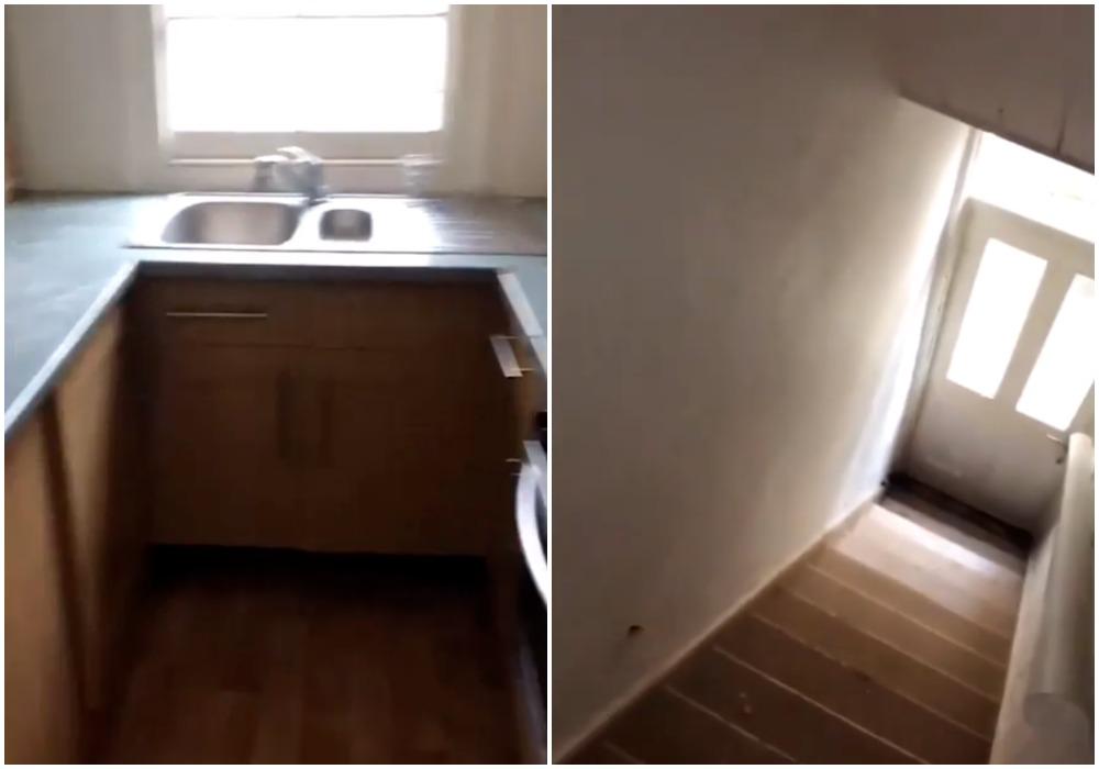 Лестница в кухонном шкафу: мужчина хотел арендовать дом, но его смутила необычная планировка (фото)