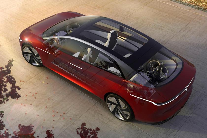 Он все-таки не будет внедорожником: Volkswagen ID.6 призван конкурировать с BMW i4 и Mercedes EQE