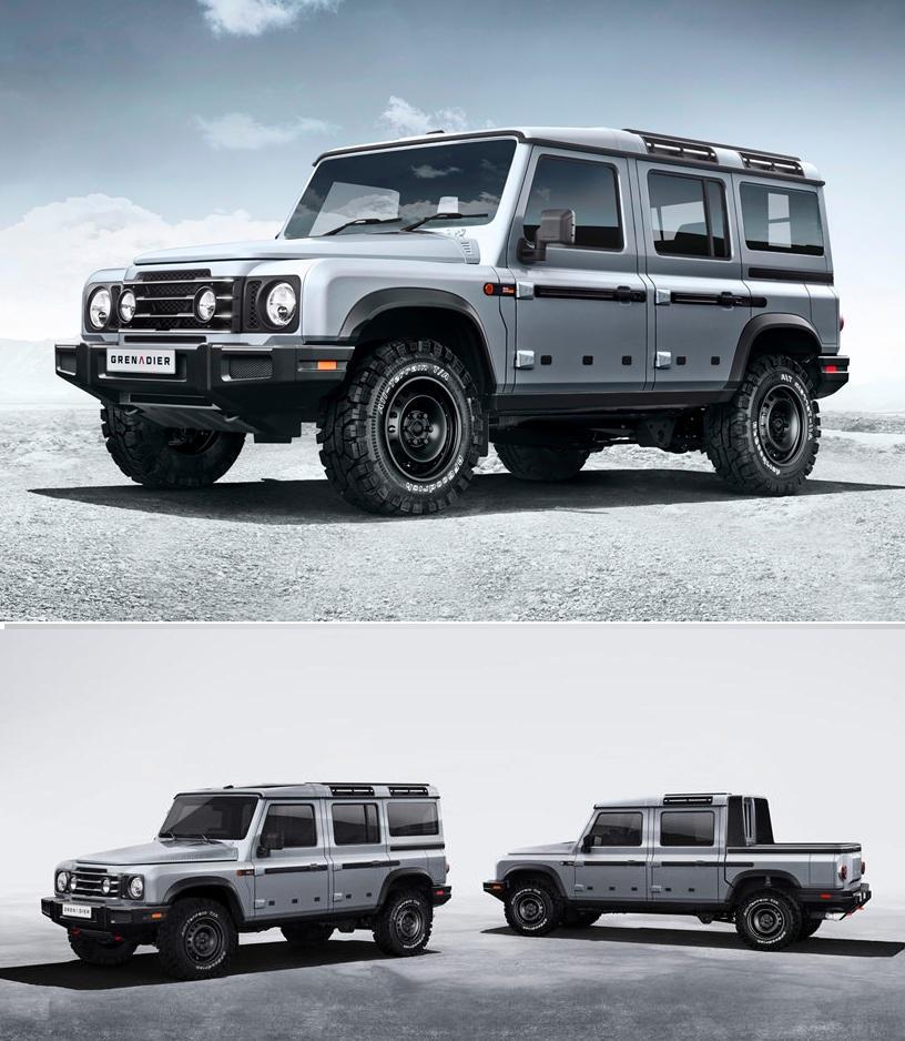 Новую машину создадут во Франции: Ineos покупает завод Mercedes для создания Grenadier 4x4